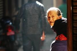 Old Woman, Nepal