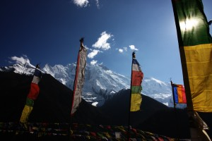 Prayer Flags in Annapurna