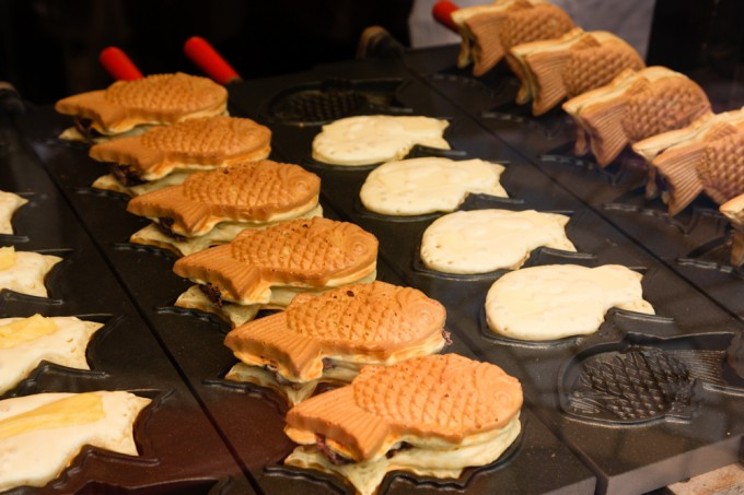 Fish Waffles