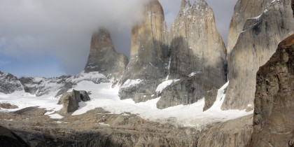 Towers in Torres del Paine
