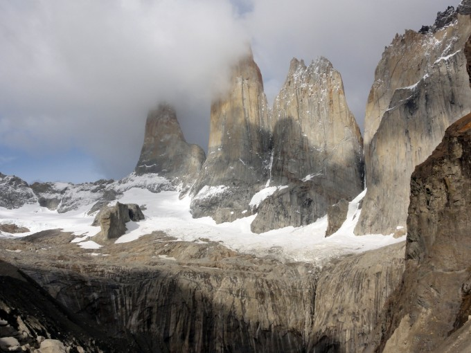 Towers in Torres del Paine, Patagonia