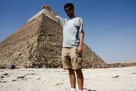 Holding the Pyramid
