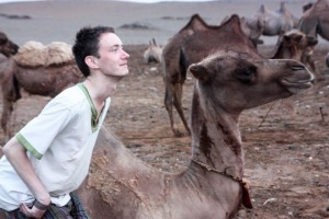 Euan and the camel