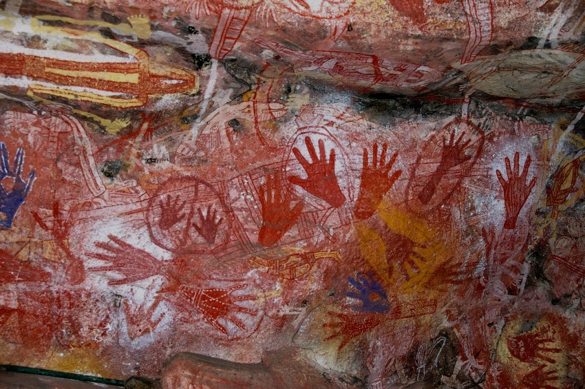 Aboriginal rock art