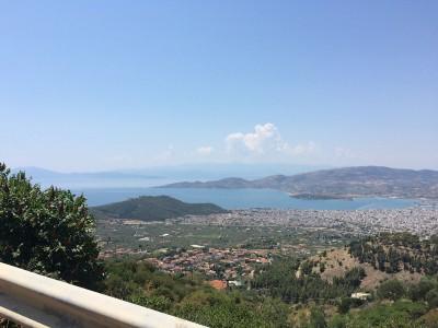 Overlooking Volos