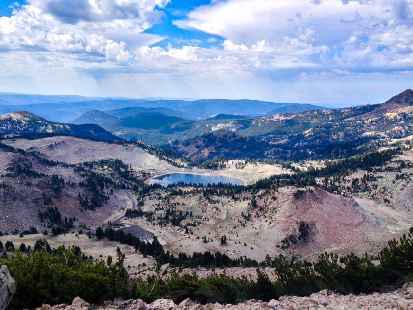 Lassen Peak View