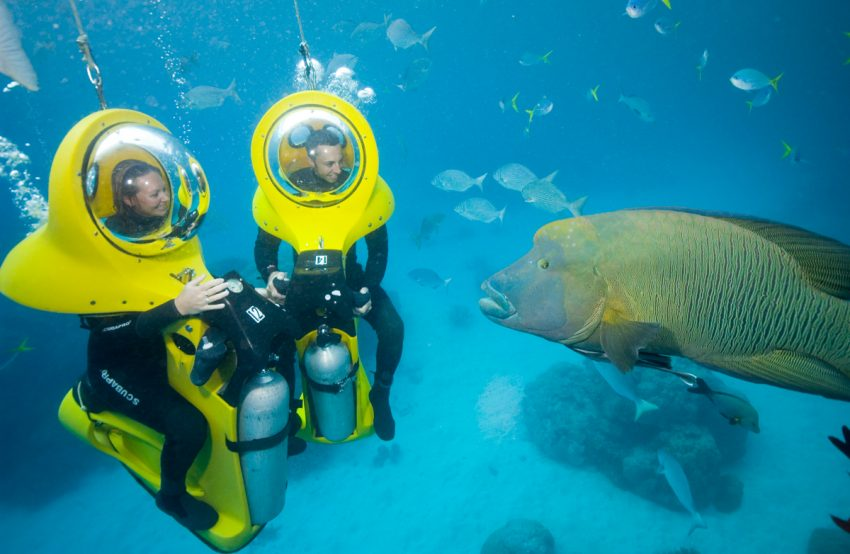 Scuba Doo Underwater Scooter Top 10 Things To Do In Cairns