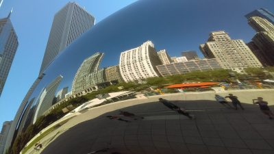 Chicago Cloud Gate Bean Sculpture