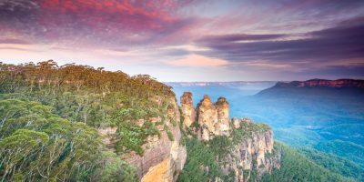 The Three Sisters, Blue Mountains, Australia (by Stanley Landscape Photography)
