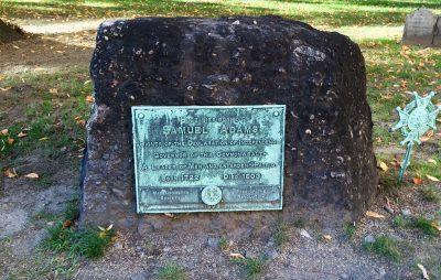Boston Sam Adams grave Festive Fall Days: A Tour of Festivities, History, and Seasonal Fun in Massachusetts