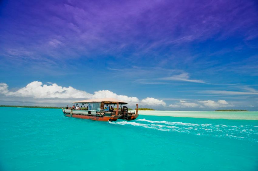 Aitutaki CI 225 DK Love a Little Paradise: The Cook Islands