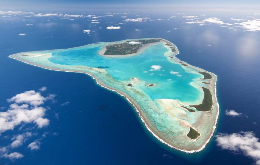 Aitutaki Lagoon Love a Little Paradise: The Cook Islands