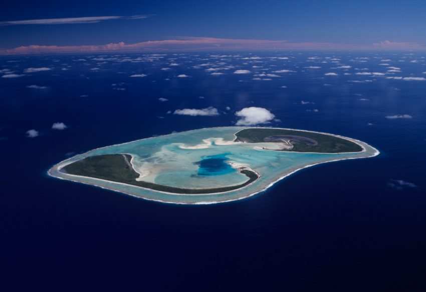 Manuae Aerial small file Love a Little Extra Paradise: The Outer Islands of the Cook Islands