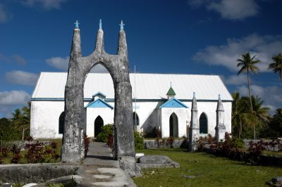 Mauke CICC Church Love a Little Extra Paradise: The Outer Islands of the Cook Islands