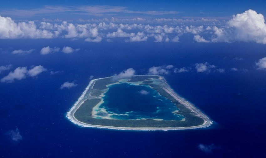 Rakahanga Aerial2 Love a Little Extra Paradise: The Outer Islands of the Cook Islands