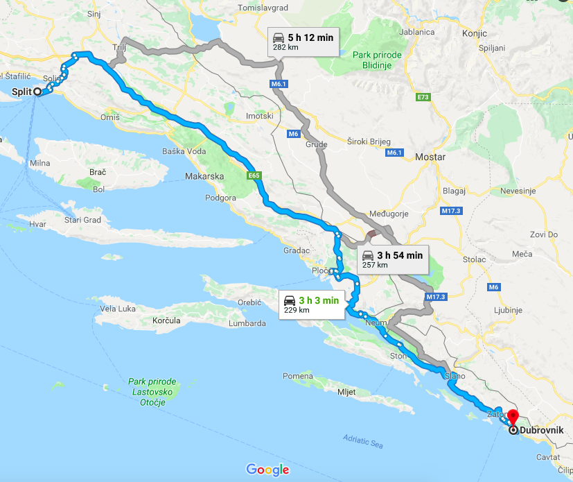 Discovering the Croatian Coast A Split to Dubrovnik Road Trip The