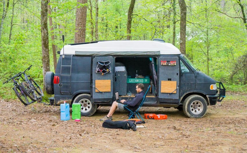 DogVanCamping 10 Reasons To Take A Campervan Road Trip