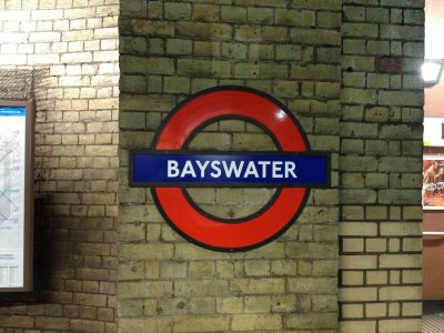 london tube at bayswater How to Spend Three Days in London