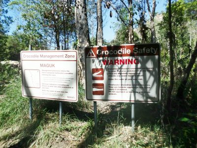 crocodile safety Visiting Kakadu National Park in Northern Territory, Australia
