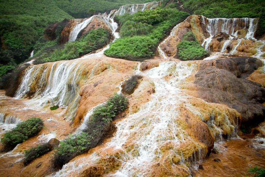 3. Golden Waterfall 25 Incredible Things To Do in Taiwan