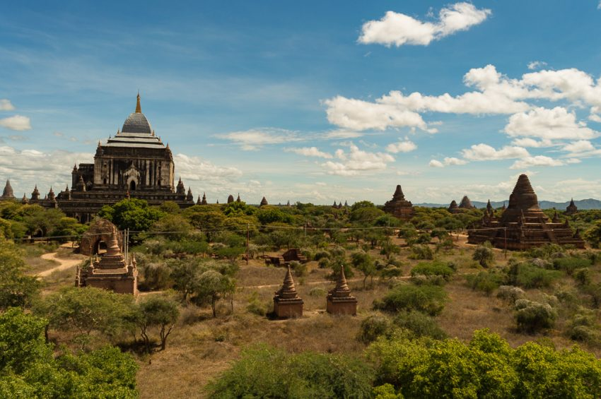 Plains of Bagan, Myanmar