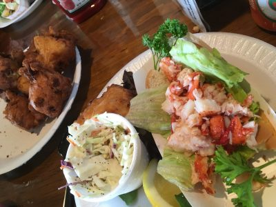 Flo s lobster roll Spending a Summer in Newport, Rhode Island