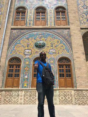 tehran thumbs up Roobens has Been Around the Globe
