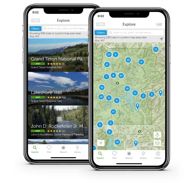 alltrails The Best Smartphone Travel Apps for 2020