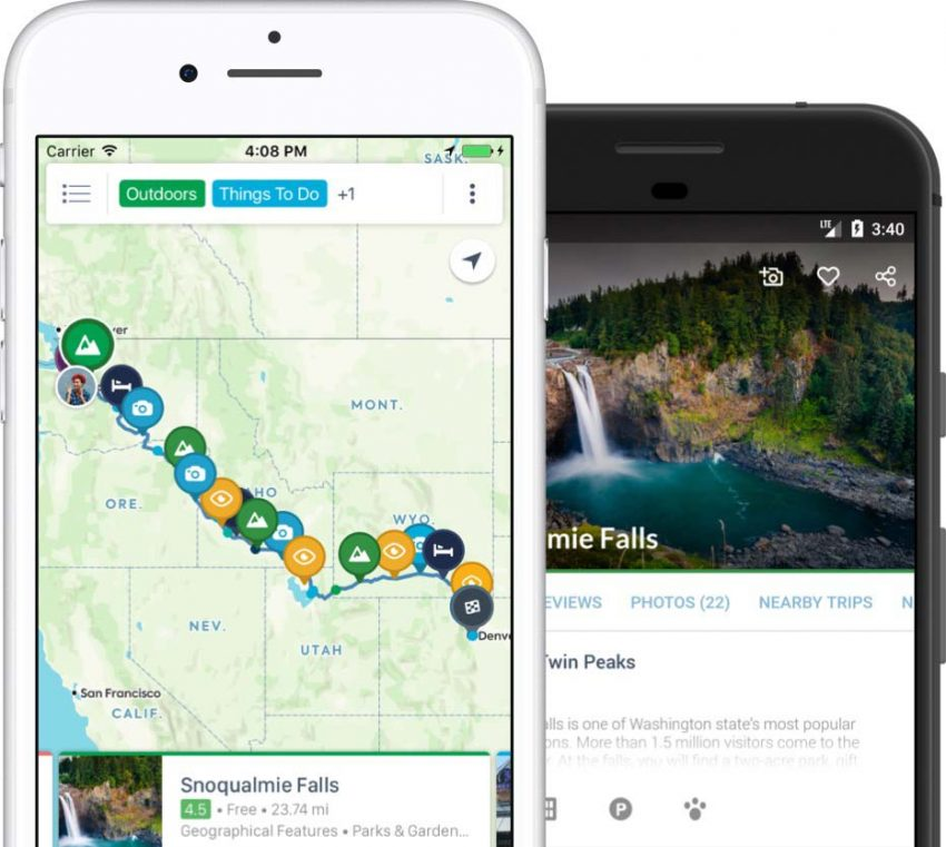 roadtrippers The Best Smartphone Travel Apps for 2020