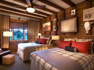 Ranch hotel room