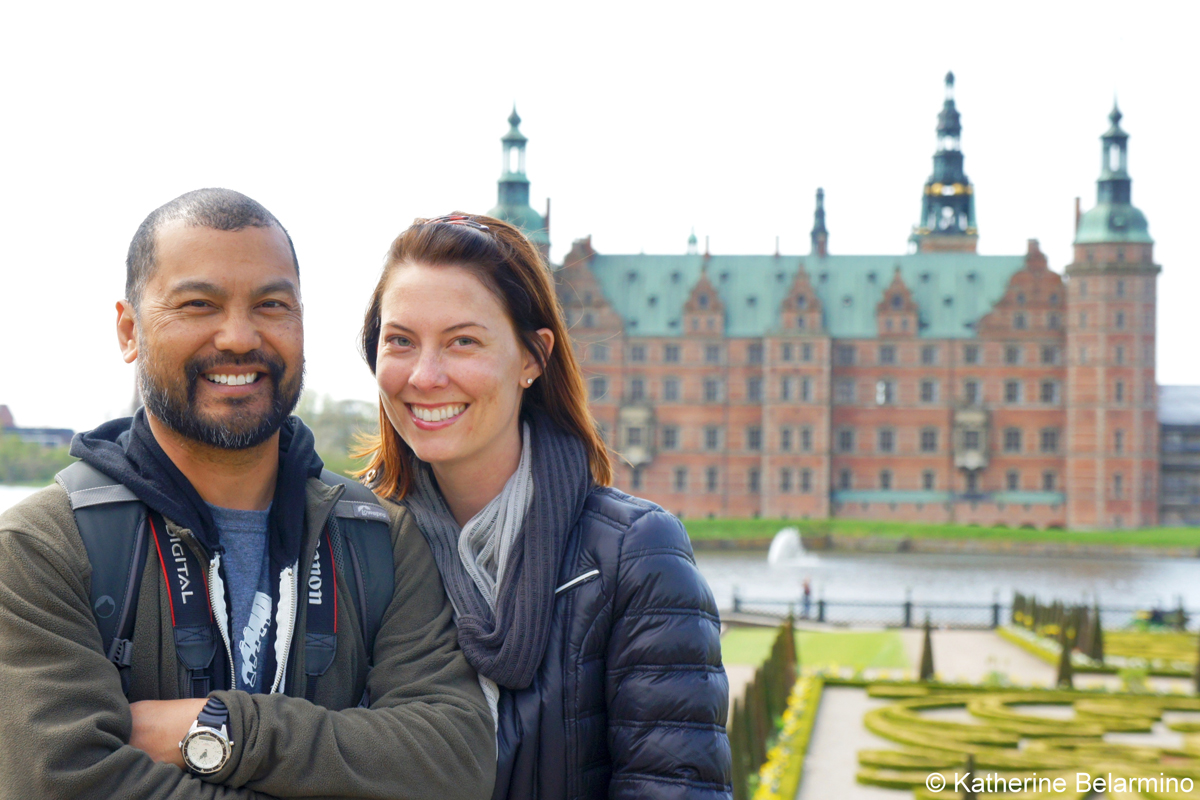 Katherine and Romeo in Denmark Katherine Belarmino Talks about Efficient Travel Planning