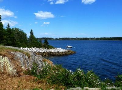 Bishop's Bluff, Round Pond, Maine