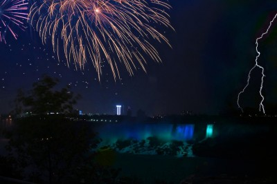Fireworks and Falls by Shane Kiefer