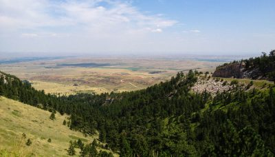 Overlooking Wyoming