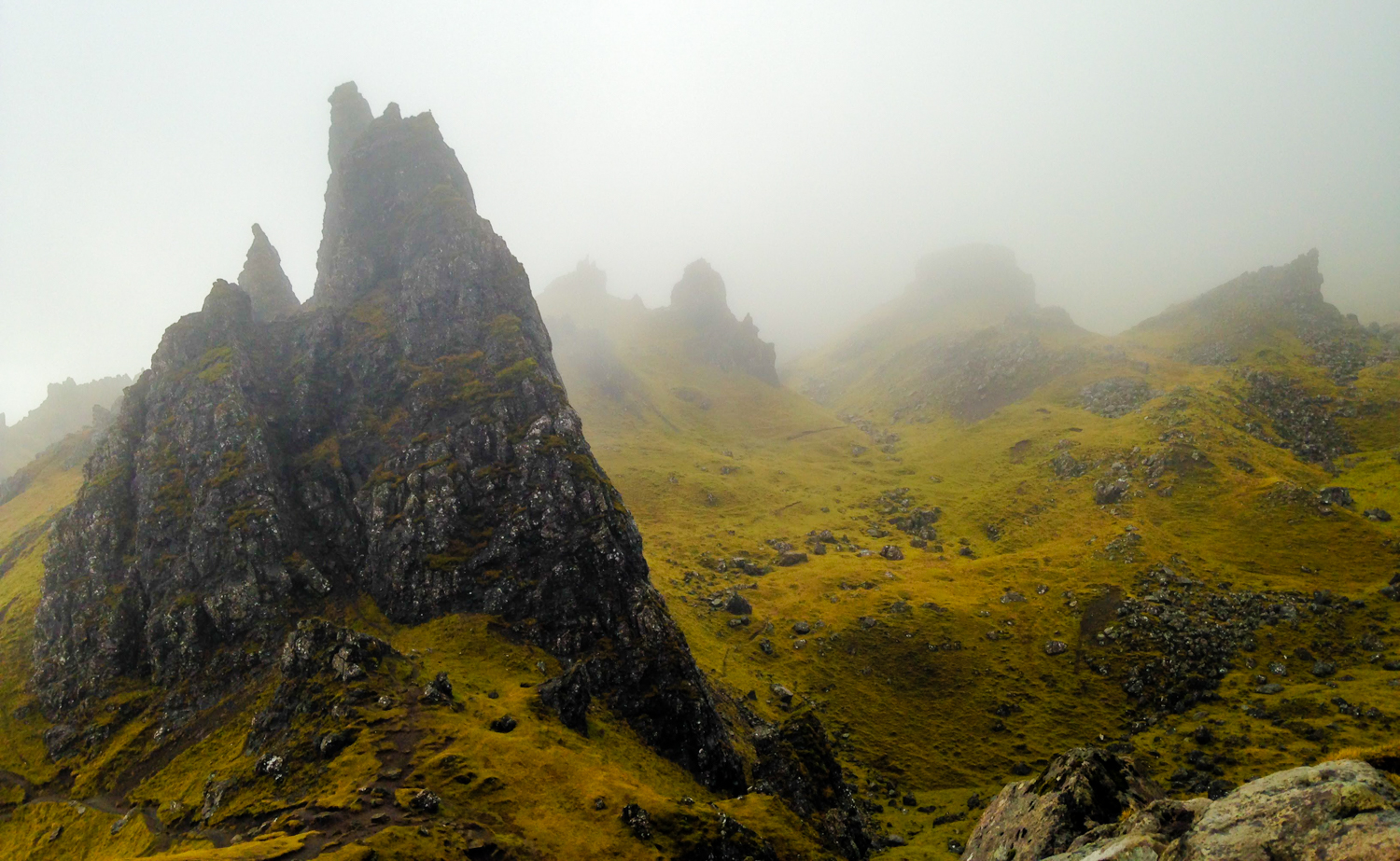 A Weekend in Skye