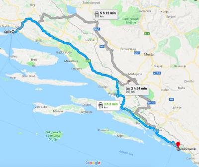 Croatia Map