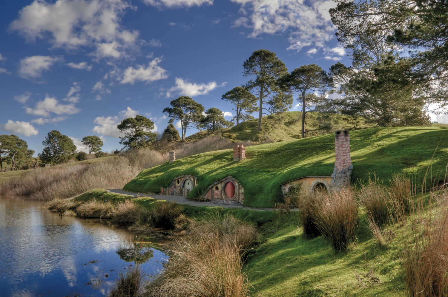 hobbiton movie set c A Road Trip on the North Island of New Zealand