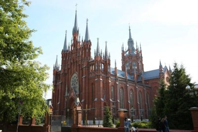 The Cathedral of the Immaculate Conception, Moscow