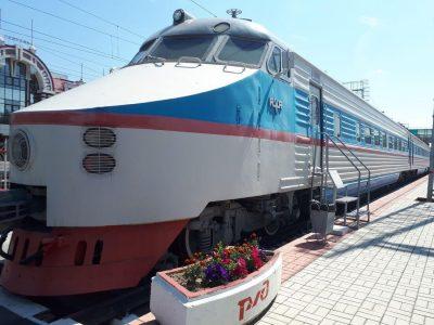 The Rizhskaya Railway Museum