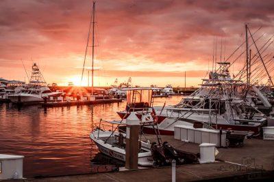 Sunset at Marina Pez Vela