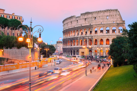 italy rome colosseum sunset Is Teaching English Abroad The Right Move For Me?