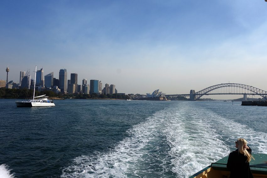 Ferry ride to Manly View What country should you visit for your first trip abroad?
