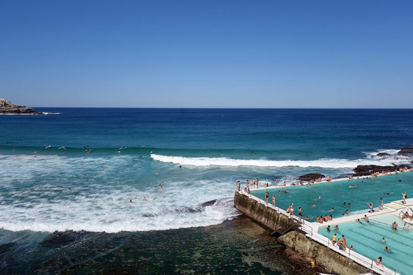 Icebergs Pool at Bondi Beach What country should you visit for your first trip abroad?
