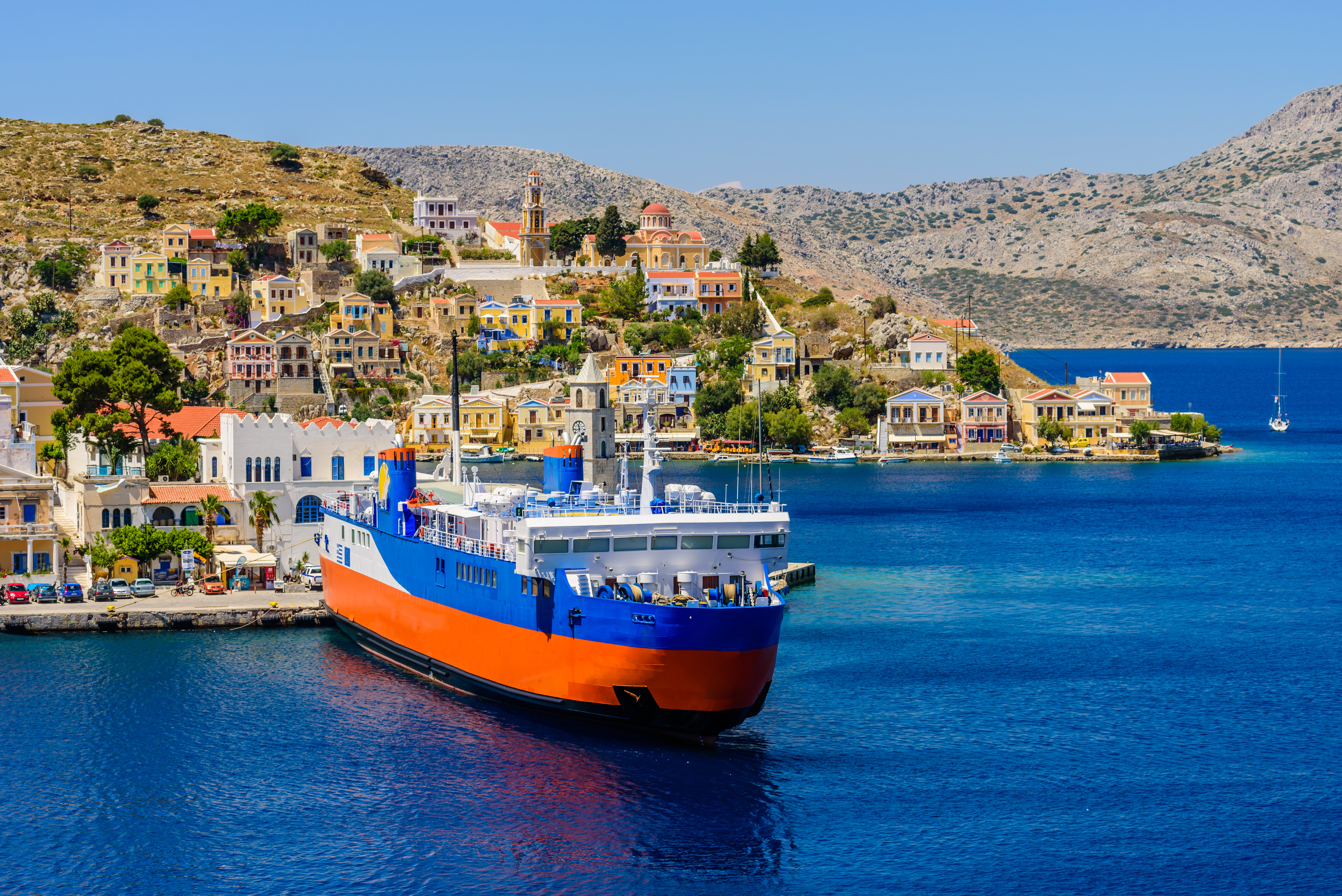 How to book Greek Island Ferries