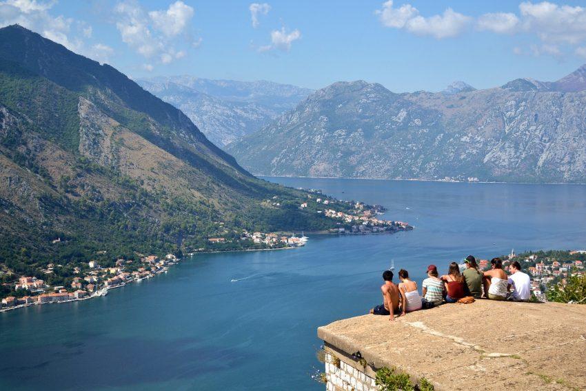 Overlooking Kotor, Montenegro