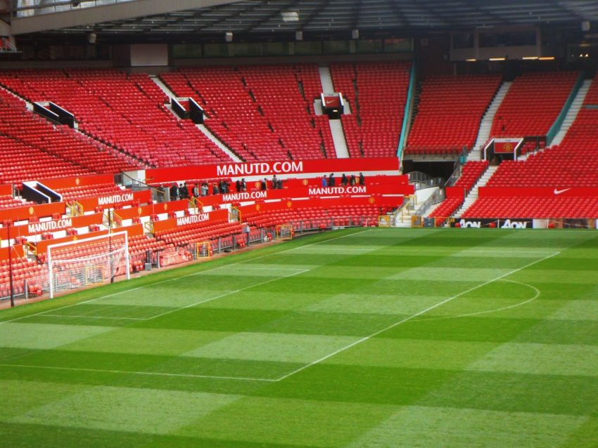 The Manchester United Football Stadium