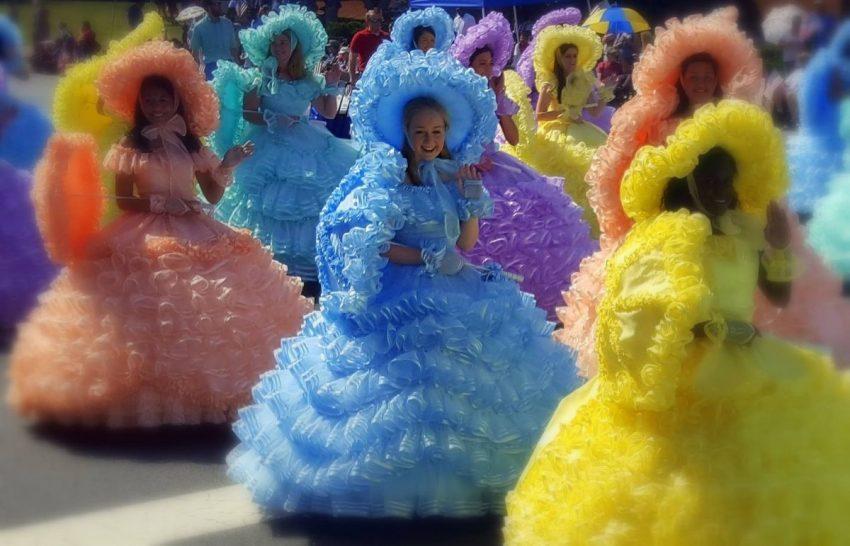 Azalea Trail Maids in Mobile Alabama Affordable Weekend Trips in the Southeastern U.S.