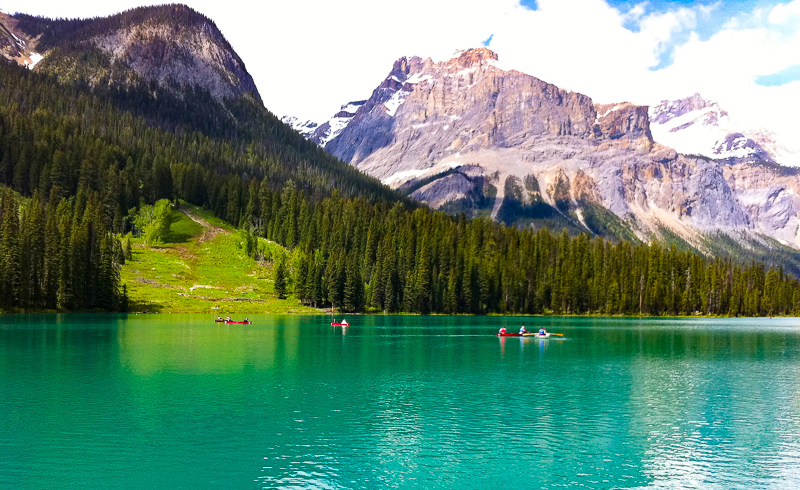 Emerald Lake Canadian Rockies Affordable Weekend Trips in the Pacific Northwest