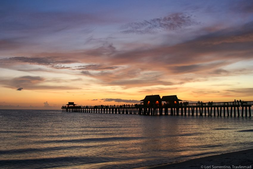 sunset Naples Florida Travlinmad Affordable Weekend Trips in the Southeastern U.S.