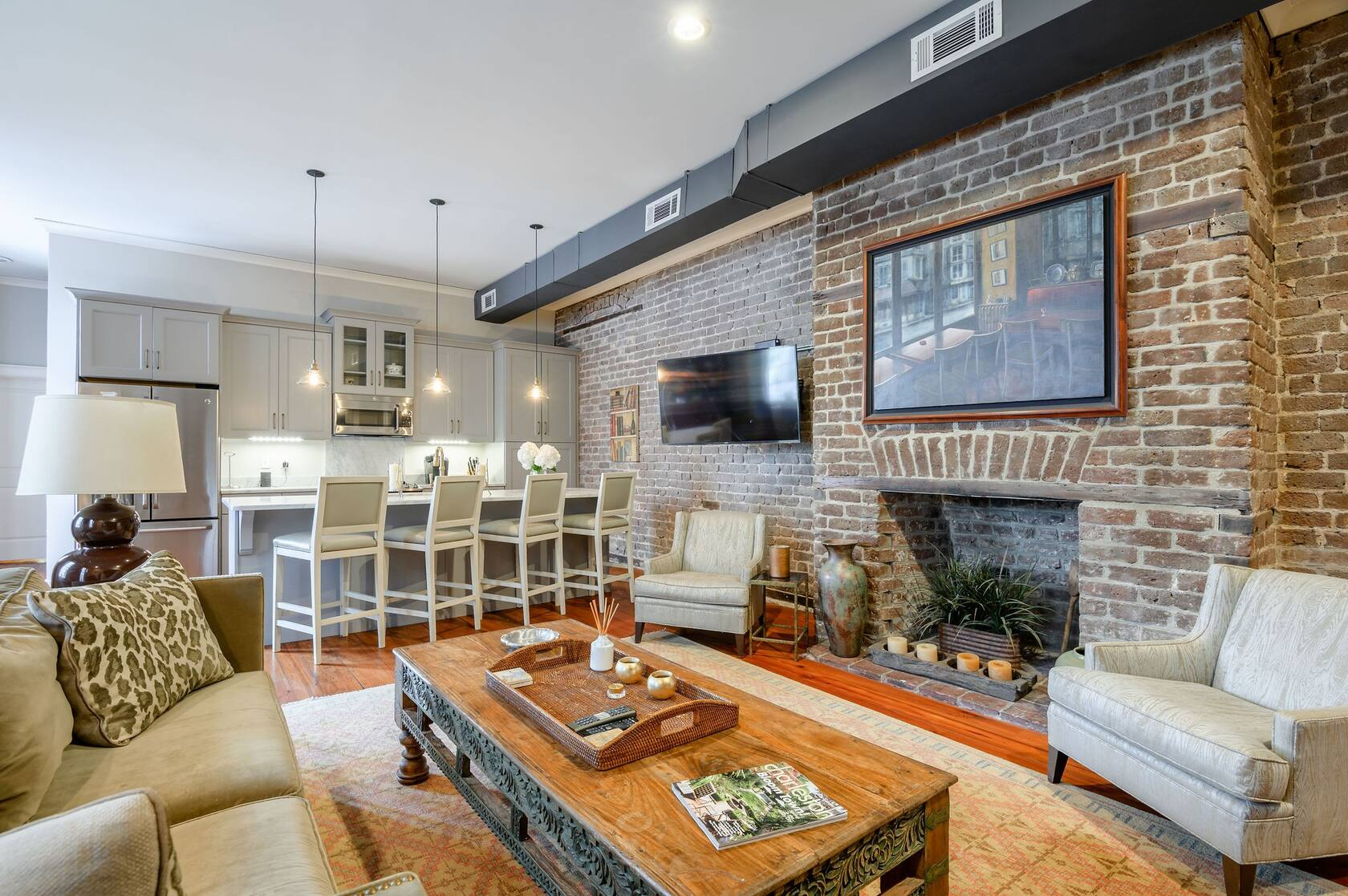 AirBnB's for a Family Trip to Charleston